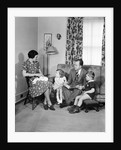 Family Group Photo - Ca. 1950 by Corbis