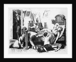 The Great Yellow Fever Scourge Engraving by Corbis