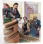 "A New Crime, Depicting a ""Habitual Reformer"" Political Cartoon by Corbis"