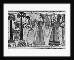 Greek Painting Of Sacrificial Scene by Corbis