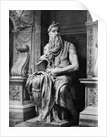 Moses by Michelangelo Buonarroti