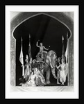 Women In Indian Costume;Elephant;Ziegfel by Corbis