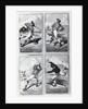 Baseball Cards Showing Various Positions by Corbis