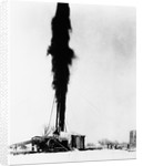 Spewing Oil Gusher by Corbis