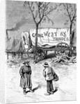 Illust.; Camp Of Men Going West; Wagon by Corbis