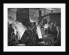 Men Heaping Ore Into Furnace by Corbis