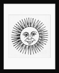 Smiling Sun Woodcut Illustration by Corbis