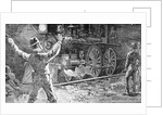 Illus.;Jesse James Waves To Train by Corbis
