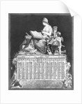 French Republican Calendar by Corbis