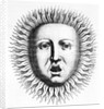 Head Of Appollo W/Solar Rays by Corbis