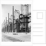 View Of Cracking Stills @ Oil Refinery by Corbis