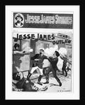Cover Illus. Of Jesse James Gunfight by Corbis