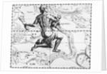 17th-Century Engraving of the Constellation of Aquarius by Corbis