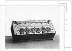 Blaise Pascal Calculating Machine by Corbis
