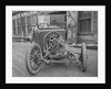 Exposed Engine of Early Automobile by Corbis