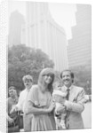 Sonny & Mary Bono W/Baby Daughter by Corbis