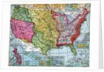 Map of United States Expansion by Corbis