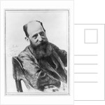 Charcoal Drawing of Josef Breuer by Emil Fuchs