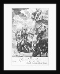 Engraving of Phaeton Struck Down by Zeus' Thunder by Corbis