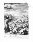 Engraving of Niobe's Children Killed by Apollo by Corbis