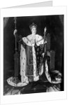 Portrait Of Charles X In Coronation Robe by Corbis