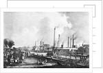 Gen View Railway Travels Past Spectators by Corbis