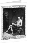 Don Quixote Reading A Novel/Painting by Corbis