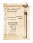 Illustration of Corinthian Columns by Corbis