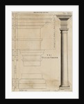 Illustration Tuscan Order of Columns by Corbis