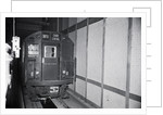 Unmanned Subway Train in Tunnel by Corbis