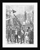 Illus/Labor Parade Passsing Over Bridge by Corbis