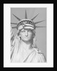 Puerto Rican Flag On Statue Of Liberty by Corbis