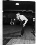 Bowler Releasing the Ball by Corbis