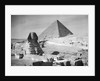 Sphinx And Great Pyramid Of Gizeh by Corbis
