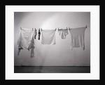 Clothes/Socks/Underwear On Clothesline by Corbis