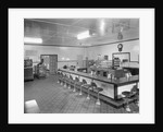 Interior Of An Empty Diner by Corbis