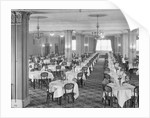 Empty Dining Room by Corbis