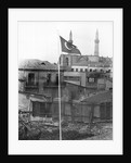 Turkish Flag Stands In Nicosia Ruins by Corbis