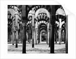 Interior of Mosque at Cordoba by Corbis