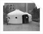 Steel Bomb Shelter on Display at MOMA by Corbis