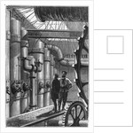 Illustration of the Engine Room of the Nautilus by Corbis