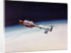 Artist's Concept of Joint Appolo-Soyuz by Corbis