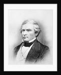 Bust Illustration Of Millard Fillmore by Corbis