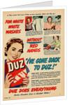 Duz Laundry Detergent Advertisement by Corbis