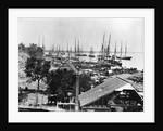 Supplies Landing in Virginia Harbor by Corbis
