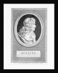 Profile Portrait of Moliere by Corbis