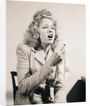 Glamour Girl About to Sneeze by Corbis