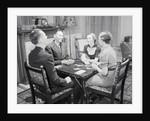 Table of Bridge Players by Corbis