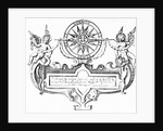Baroque Directional Ornament / Compass by Corbis