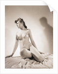 Nude Seated Woman by Corbis